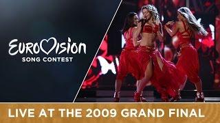 hadise   düm tek tek turkey live 2009 eurovision song contest