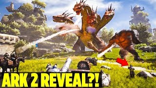 DID THEY SERIOUSLY JUST ANNOUNCE ARK 2?! Atlas New MMO WildCard - Ark: Survival Evolved Extinction