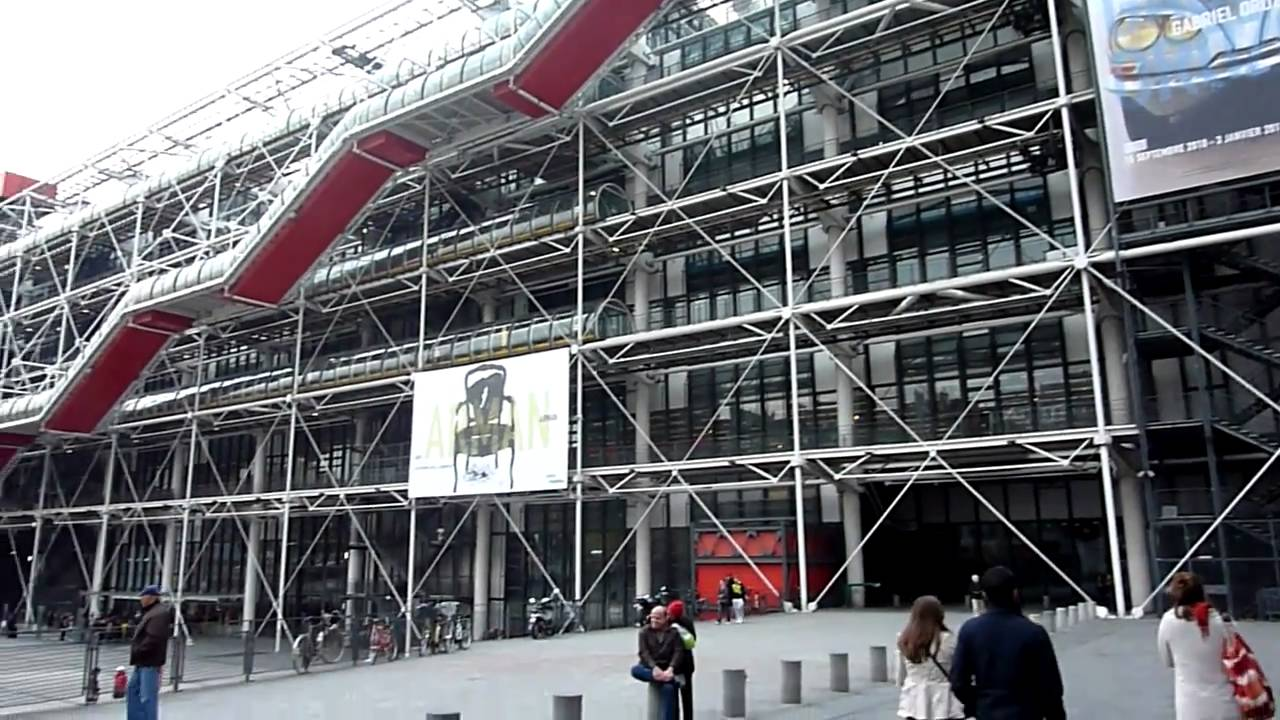 Marais Paris Centre Georges Pompidou, Paris - Youtube