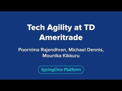 Tech Agility at TD Ameritrade