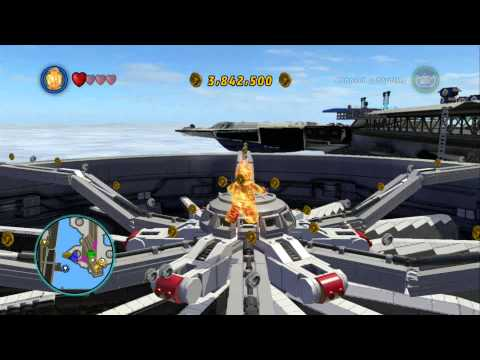 LEGO Marvel Super Heroes - S.H.I.E.L.D Helicarrier 100% Guide (All Collectibles)