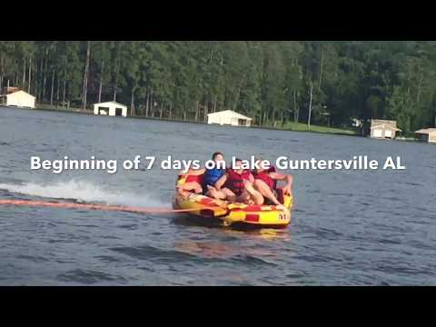 7 fun days on Guntersville River in AL.  Dex Rex play's 21
