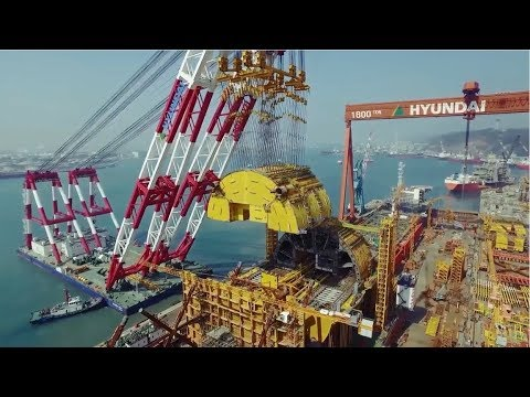 Construction of the Aasta Hansteen offshore platform