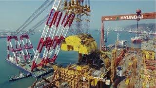 Construction of the Aasta Hansteen offshore platform