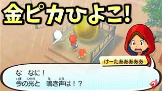 さくら中央シティ 駅前広場にある金の卵をさすると「金ピカひよこ」出現!団々坂 正天寺の周りを走ってる人に話しかけると、現実時間で1日1回、金の卵をさすれるようになり ...