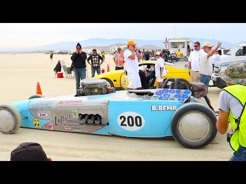 Land Speed Racing at EL MIRAGE