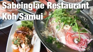 Sabeinglae Restaurant (เสบียงเล) and Hin Ta Hin Yai: Koh Samui Day 4