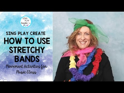Stretchy Band Creative Movement Activities-Tips on How to Use in Your Classroom