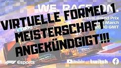 FORMEL 1 STARTET VIRTUELLE GRAND-PRIX-SERIE! - ALLE INFOS/ÜBERBLICK - FPL_ChaoZ - DEUTSCH/GERMAN