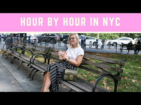 HOUR BY HOUR ONE DAY IN NEW YORK - EXPLORE WITH US! I KAJA-MARIE