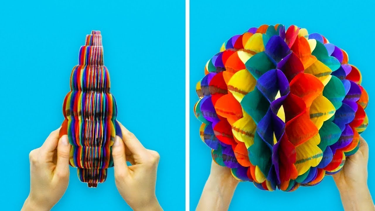 25 manualidades adorables con papel youtube - Manualidades con papel ...