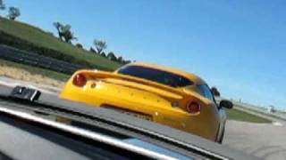 Lotus Evora S on track
