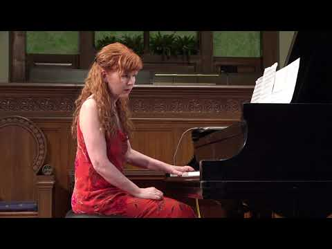 Sarah Cahill plays Steppe Music (excerpt) by Meredith Monk