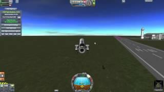 Kerbal Space Program - Making Lifting Body Aircraft Fly
