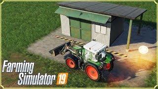 FARMING SIMULATOR 19 #40 - L'OFFICINA MECCANICA - GAMEPLAY ITA