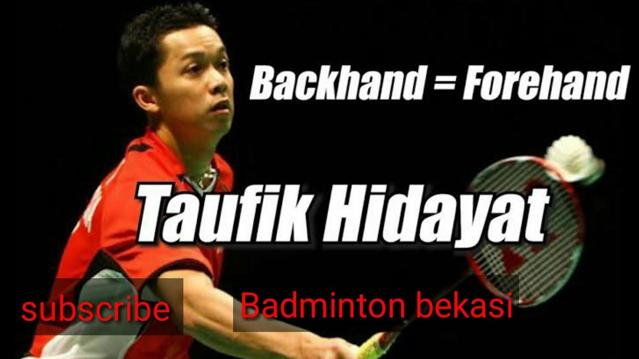 Taufik Hidayat backhand smash - YouTube
