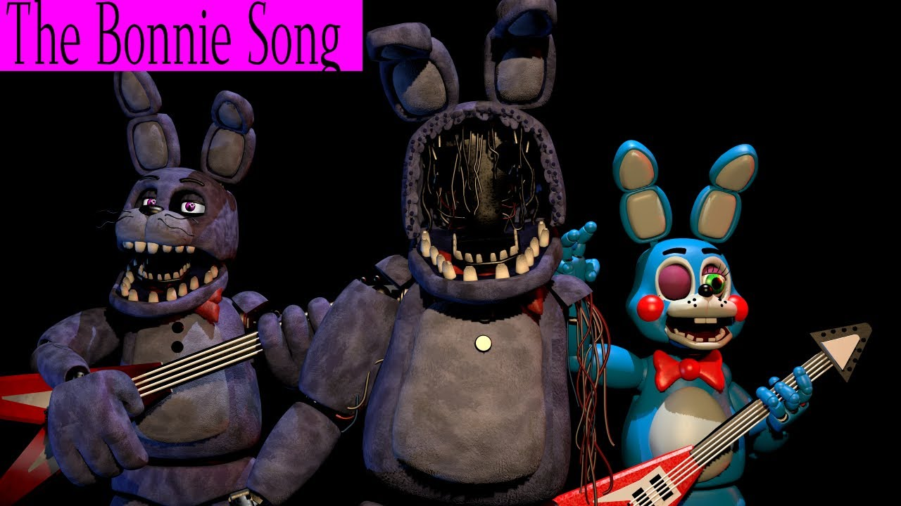 (Sfm/Fnaf) The Bonnie Song
