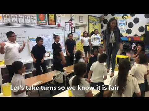 Chris Davis - Teacher Uses Lizzo Song to Help Kids Own Greatness!