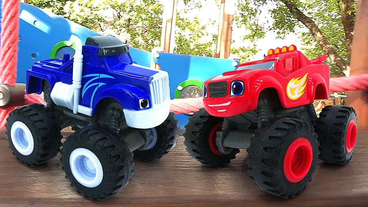 Машинки для детей. Вспыш и чудо-машинки на детской ...