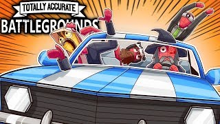 BATTLE ROYALE UBER DRIVERS & VANOSS BEAST MODE! (Totally Accurate Battlegrounds Funny Moments)