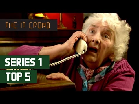 TOP 5 The IT Crowd Best Moments   Series 1