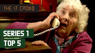 TOP 5 The IT Crowd Best Moments | Series 1
