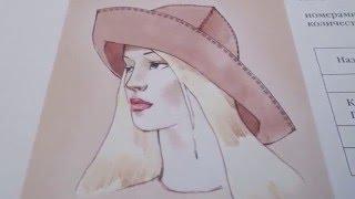 Женская шляпа.(, 2016-03-11T10:50:47.000Z)