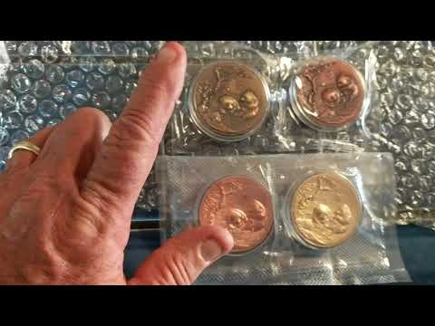 low mintage-Flagship Panda coins from Shanghai/Nanjing Mint