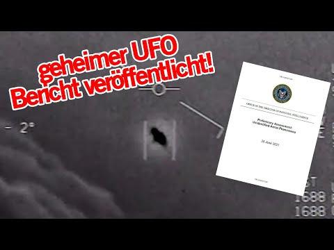 Geheimer UFO / Alien Bericht des Pentagons veröffentlicht | MythenAkte