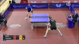 Cedric Meissner (GER) vs Benedikt Duda (GER)   R16   2020 ITTF Spanish Open