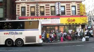 chinatown bus video 3: Apex Bus NYC to Philadelphia