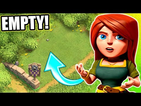 WHY IS IT EMPTY!? - Clash Of Clans - ROAD TO TOWN HALL 12