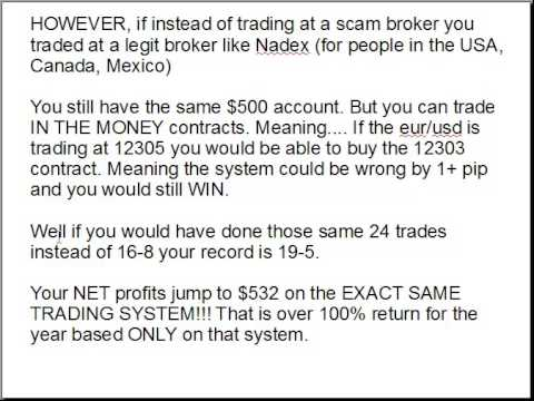Nadex vs binary options