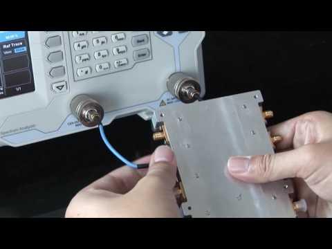 DSA815-TG Wie nutze ich einen Trackinggenerator?