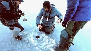 С ТАКИМИ ЩУКАМИ И ОКУНЬ НЕ НУЖЕН ЛЕСКА ТРЕЩИТ ОТ БОРЬБЫ Рыбалка на жерлицы Лёд 2020 2021
