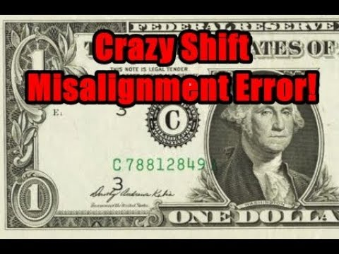 Search Your Dollar Bills For This Valuable Printing Error - Paper Money Worth Huge Money!