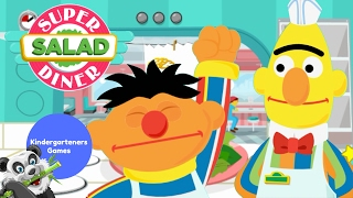 Sesame Street Super Salad Diner with Ernie and Bert