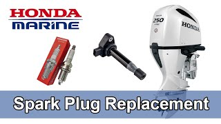 homepage tile video photo for Honda Marine DIY Spark Plug Replacement
