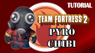 Tutorial Pyro Chibi en Plastilina / TF2 / How to make a Pyro Chibi with Plasticine