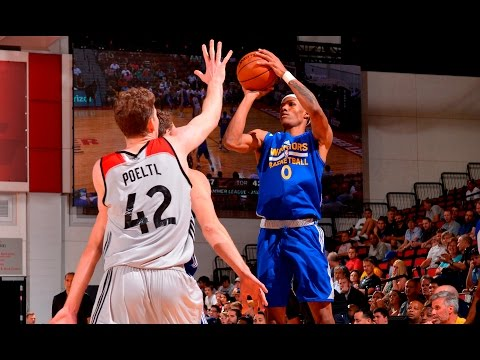 Patrick McCaw | 28 Point Performance In Las Vegas