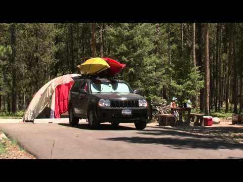 Shoreline Campground On The Boise National Forest In Idaho