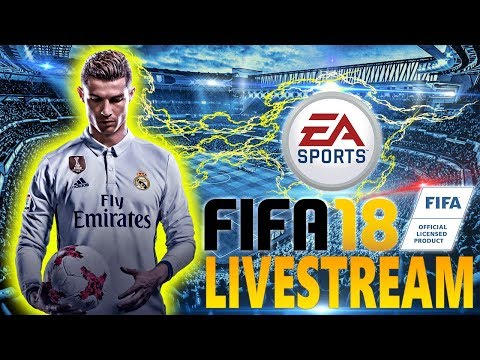 FIFA 18 FIRST GAMEPLAY!! FUT DRAFT, THE JOURNEY 2.0, NEW GAMEPLAY MECHANICS