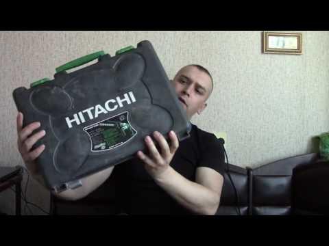 Обзор перфоратор  HITACHI DH24PC3
