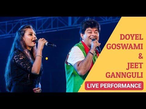 Jeet Ganguly & Doyel Goswami Live - Tu Hi Yeh Mujhko Bata De