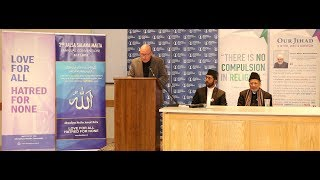 Interfaith Session - Second Jalsa Salana Malta 2018