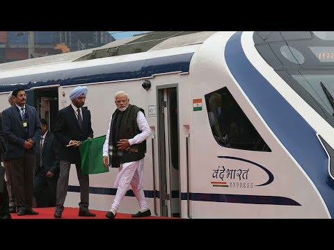 Vande Bharat Express: PM Modi flags off India's fastest train Mp3