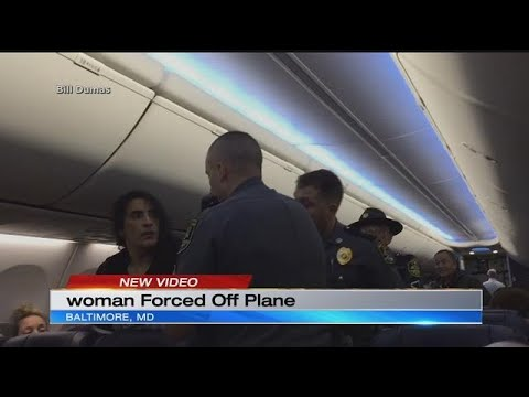 Woman dragged off Southwest Airlines flight
