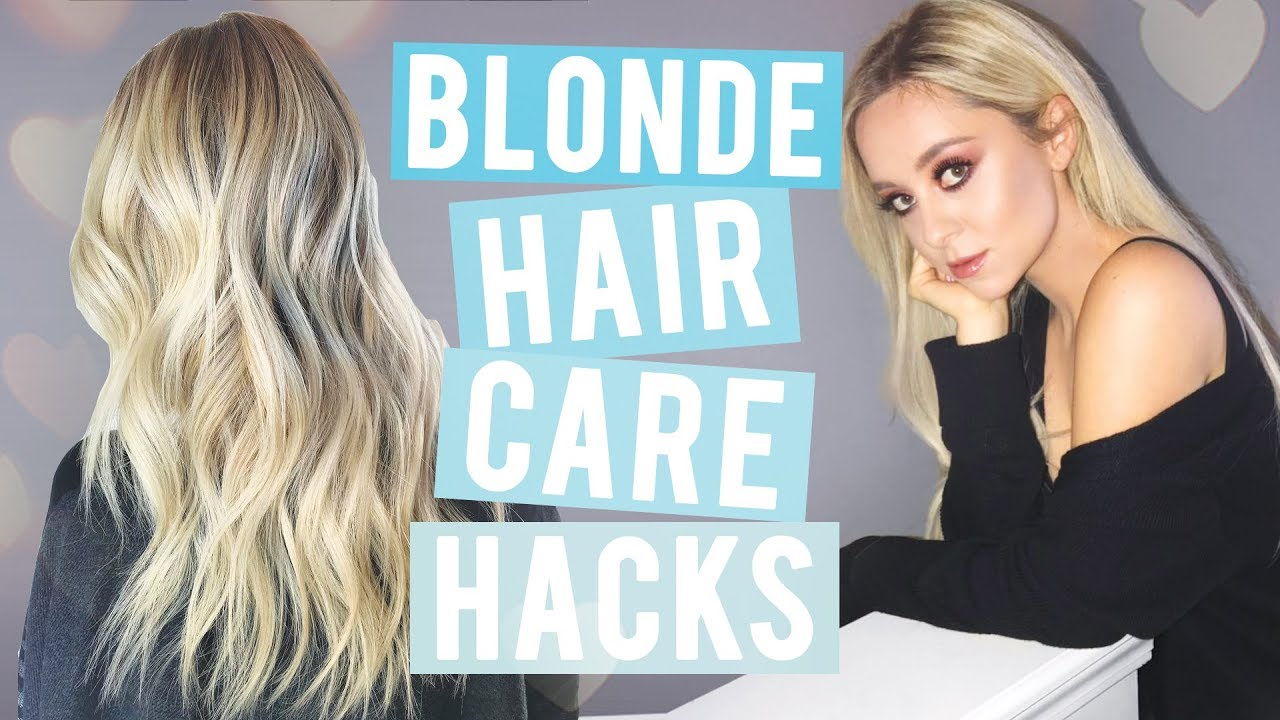 How To Grow Your Hair Out Blonde Hair Care Tips