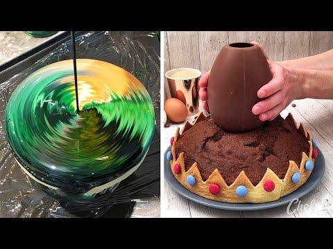 recettes-de-desserts-rapides-et-faciles-🍰-tutoriels-de-délicieux-gâteaux-au-chocolat-(avril)-#03