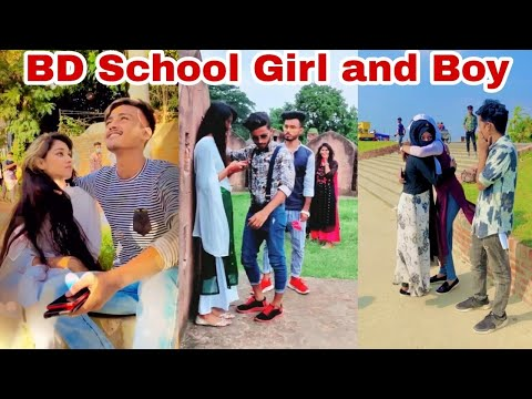 Bangladeshi School Boy and Girl Funny Tiktok Video 2020 ৷ Bangla New Likee ৷ ফানি টিকটক ৷ SK LTD